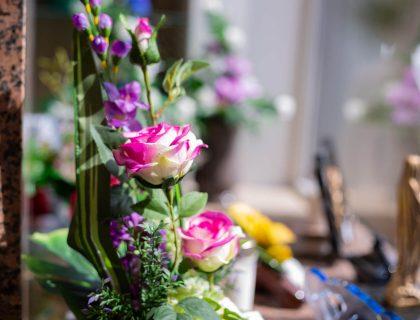 Fleurs cérémonie funéraire