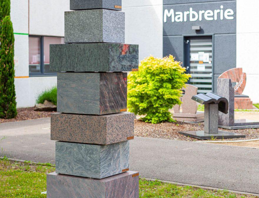 Marbrerie collectivités Haut Rhin
